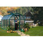 palram  Palram Serre de Jardin Verte Polycarbonate et PVC 3 x 2 m ? EcoGrow... par LeGuide.com Publicité