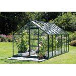 lams  Lams Serre de Jardin en Aluminium Vert et Verre 3mm 8 m² - Merkur... par LeGuide.com Publicité