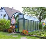 palram  Palram Serre de Jardin Verte Polycarbonate et PVC 4 x 2 m ? EcoGrow... par LeGuide.com Publicité