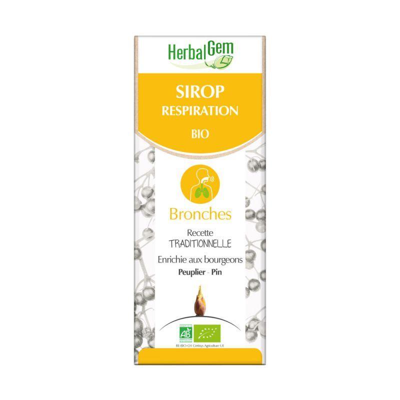 HerbalGem Sirop respiration Bio 150ml