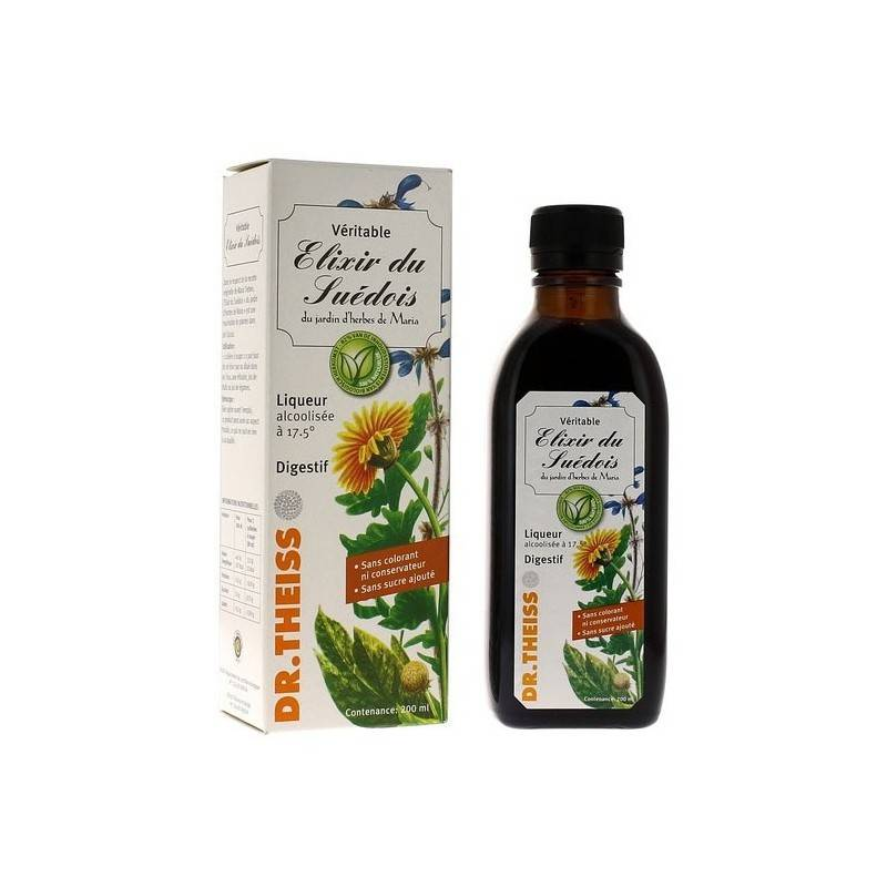 Dr. Theiss Naturwaren Dr.Theiss Élixir du suédois - 200ml