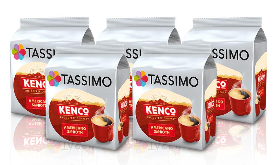 Tassimo Lot de 80 dosettes café Tassimo Kenco Café Crema