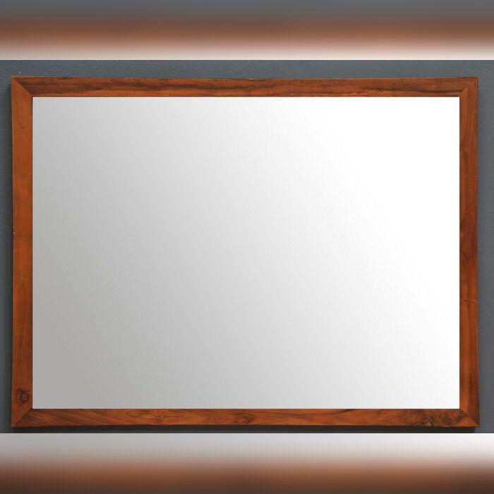 Saniteck Miroir salle de bain teck 130