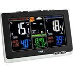 Station Météo Thermo/hygro LCD Couleur, alarmes et DCF77 WS6828-35.1129+piles... par LeGuide.com Publicité