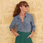 blancheporte  Blancheporte Chemise à poches carreaux TAILLE ? Long. 61... par LeGuide.com Publicité