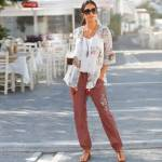 blancheporte  Blancheporte Pantalon fluide brodé TAILLE ? Entrej. 75 cm... par LeGuide.com Publicité