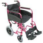 Aidapt Fauteuil de transfert compact - Rose Largeur du fauteuil : 52... par LeGuide.com Publicité