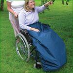 nrs  NRS Protège-jambes Cosy pour fauteuil roulant - Bleu Baladez-vous... par LeGuide.com Publicité