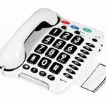 Téléphone amplifié Clearsound 3 numéros d?urgence en mémoire 9 numéros... par LeGuide.com Publicité