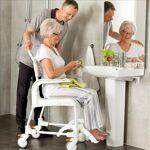 Patterson Chaise de douche et de toilettes Etac Clean - Gris - Hauteur... par LeGuide.com Publicité