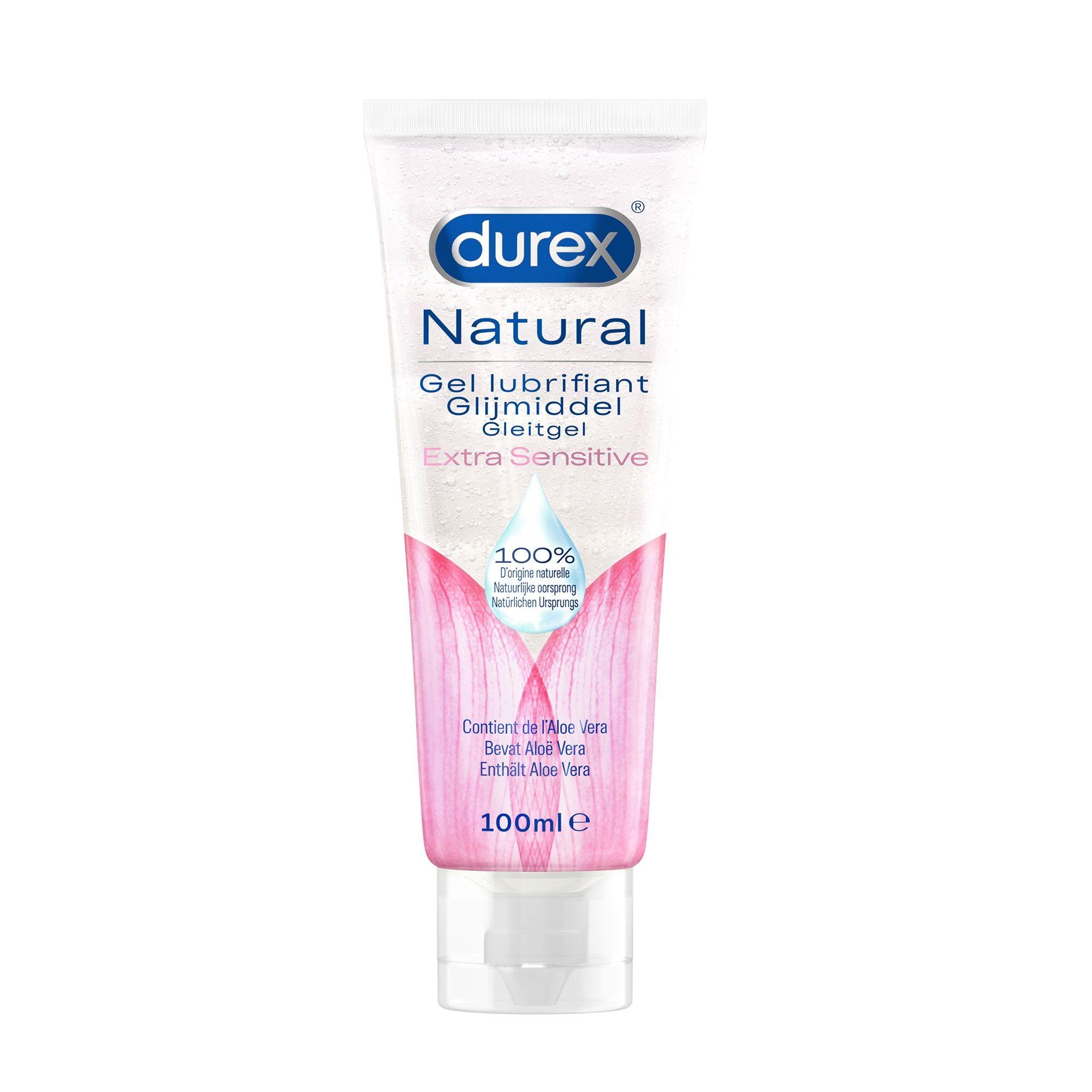 Durex Gel Lubrifiant Naturel Extra Sensitive 100 ml