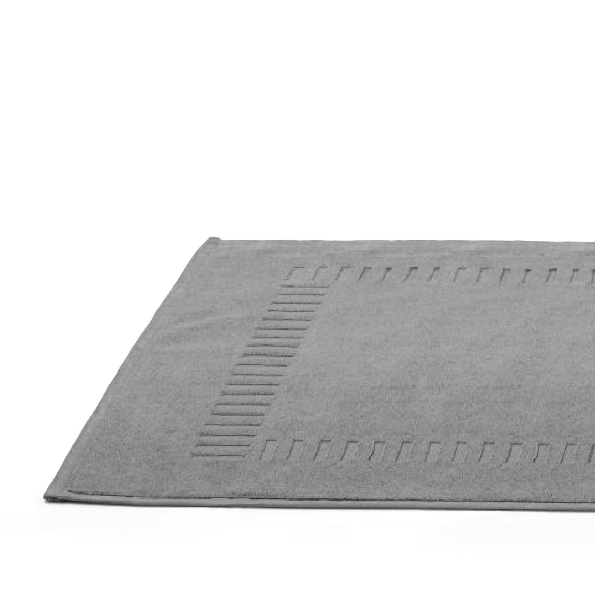 Linnea Tapis de bain 50x70 cm PURE Argent 700 g/m2
