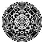 Linnea Drap de plage Fouta ronde R180 cm 100% coton 290 g/m² PELOSA Mosaic... par LeGuide.com Publicité