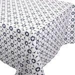 Linnea Nappe carrée 170x170 cm 100% coton enduction acrylique BELEM blanc... par LeGuide.com Publicité