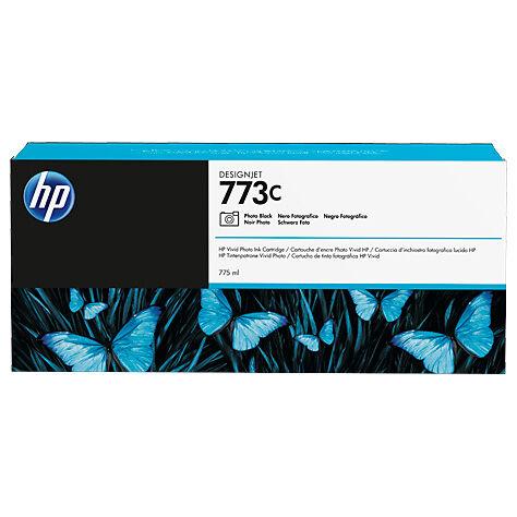 HP Cartouche encre Noir Photo HP N°773C 775ml