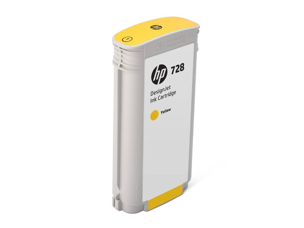 HP Cartouche encre Jaune HP N°728 130ml F9J65A