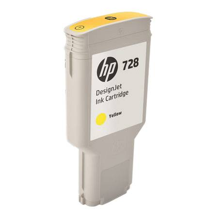 HP Cartouche encre Jaune HP N°728 300ml F9K15A