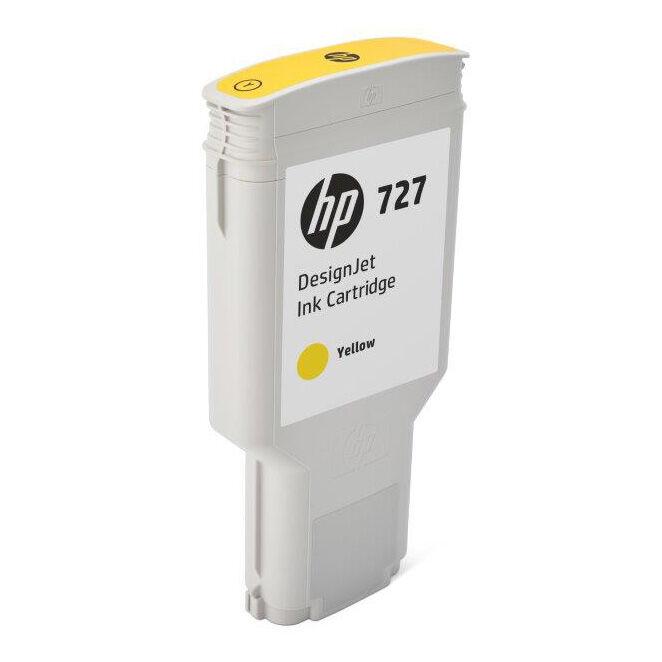 HP Cartouche encre Jaune HP N°727 300ml F9J78A