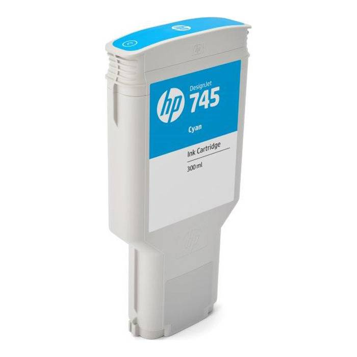 HP Cartouche encre Cyan HP N°745 300ml