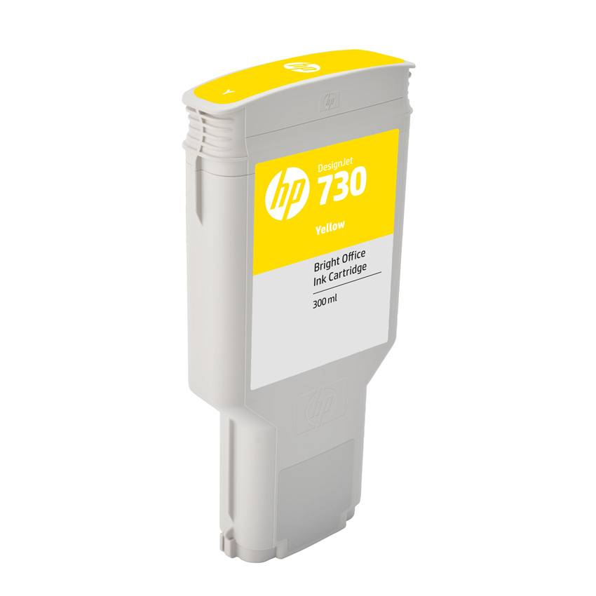 HP Cartouche encre Jaune HP N°730 300ml P2V70A