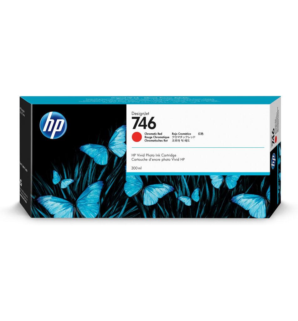 HP Cartouche encre Rouge Chromatique HP 746 - 300 ml P2V81A