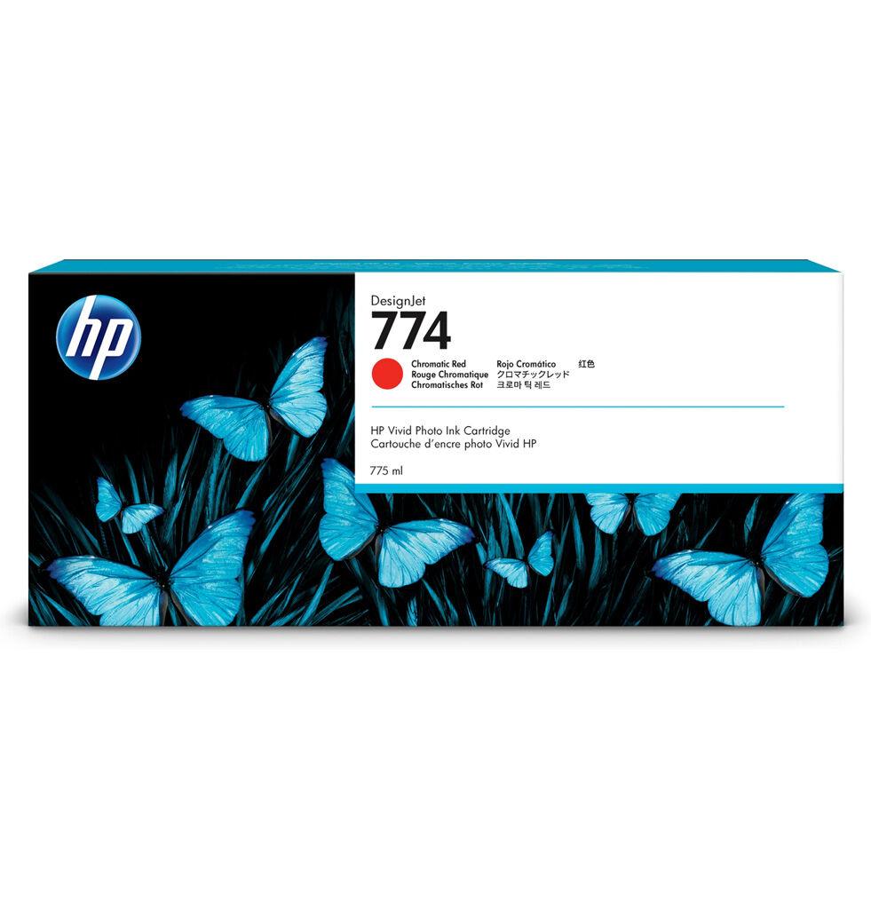 HP Cartouche encre Rouge Chromatique HP 774 775ml P2W02A