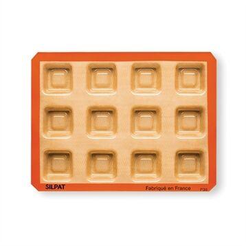 Silpat Moule 12 savarins carrés Silpat