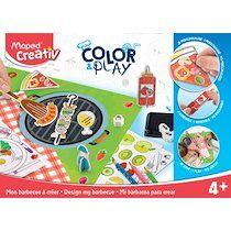 Maped Creativ COLOR & PLAY Kit créatif Mon barbecue à créer - Lot de 2