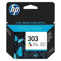 HP cartouche HP 303 couleurs pour imprimante jet d'encre