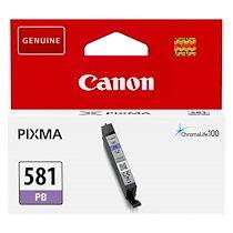 Canon Cartouche Canon CLI581 cyan photo pour imprimante jet d'encre