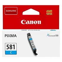 Canon Cartouche Canon CLI581 cyan pour imprimante jet d'encre