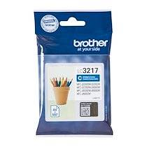 Brother Cartouche Brother LC3217 couleurs séparées pour imprimante jet d'encre - cyan