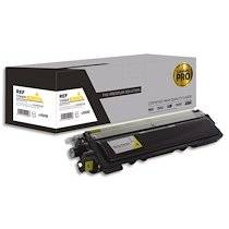 Cartouche compatible laser pro jaune Brother TN-210, 240, 230, 290, L1-BTTN230Y-PRO