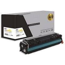 Cartouche compatible laser pro jaune HP CF542X, 203X, L1-HT203XY-PRO