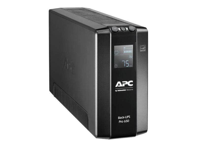 APC Back-UPS Pro BR650MI - Onduleur - CA 230 V - 390 Watt - 650 VA - USB - connecteurs de sortie : 6 - noir