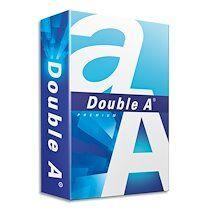 Ramette 500 feuilles papier extra Blanc PREMIUM DOUBLE A A5 80G CIE 165 - Lot de 5
