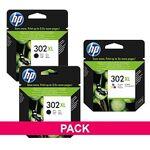 hewlett packard  HP 302XL Pack 2 cartouches haute capacité noire + cartouche... par LeGuide.com Publicité