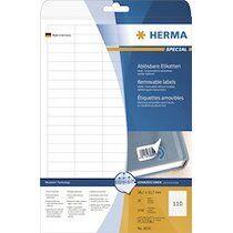 Herma Etiquette universelle SPECIAL, 63,5 x 42,3 mm, blanc - Lot de 2