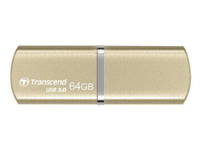 Transcend JetFlash 820G - Clé USB - 64 Go - USB 3.0 - champagne