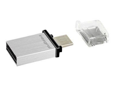 Integral Micro Fusion - Clé USB - 32 Go - USB 3.0 / micro USB