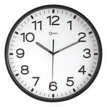 Orium Horloge silencieuse à quartz D 30 cm noire