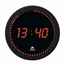 Alba Horloge Led ronde - Alba
