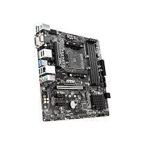 MSI B450M PRO-VDH MAX - carte-mère - micro ATX - Socket AM4 - AMD B450
