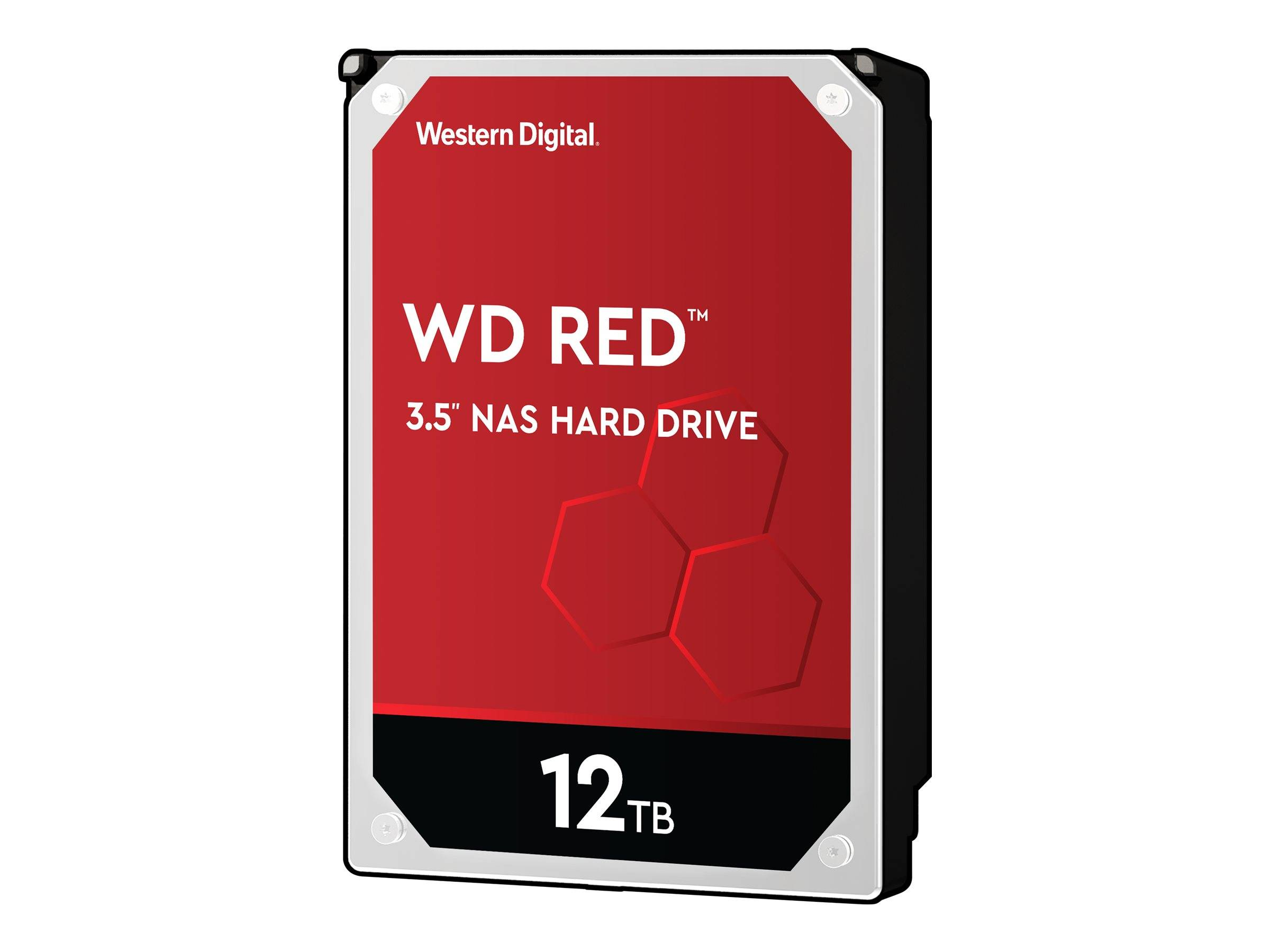WD Red NAS Hard Drive WD120EFAX - Disque dur - 12 To - interne - 3.5