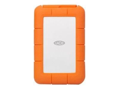 LaCie Rugged RAID PRO STGW4000800 - Baie de disques - 4 To - 2 Baies - HDD 2 To x 2 - USB 3.1 (externe) - avec 3 years Rescue Data Recovery Service Plan