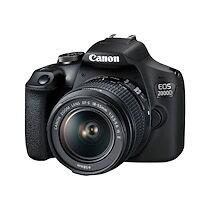 Canon EOS 2000D - appareil photo numérique objectif EF-S 18-55 mm IS II