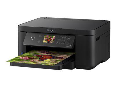 Epson Expression Home XP-5100 - Imprimante multifonctions - couleur - jet d'encre - A4 (support) - jusqu'à 33 ppm (impression) - 150 feuilles - USB, Wi-Fi(n) - noir