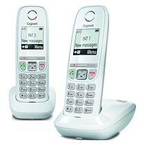 Siemens Pack duo téléphone sans fil Gigaset AS470 blanc