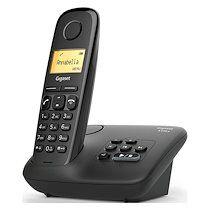 Siemens Téléphone répondeur sans fil Gigaset AL170A Noir