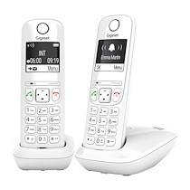 Siemens Pack duo téléphone sans fil Gigaset AS690 - blanc